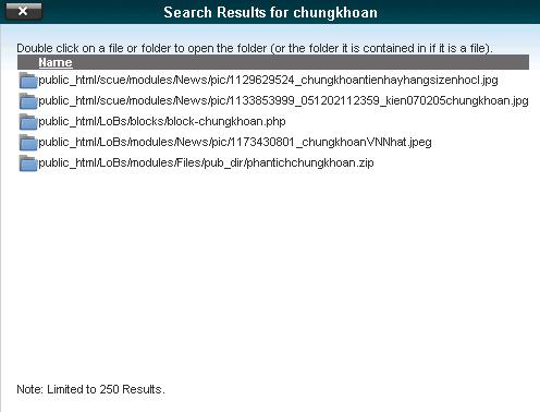 Hình 13: Kết quả tìm kiếm