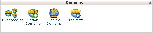 Hình 1:Phần quản lý domain