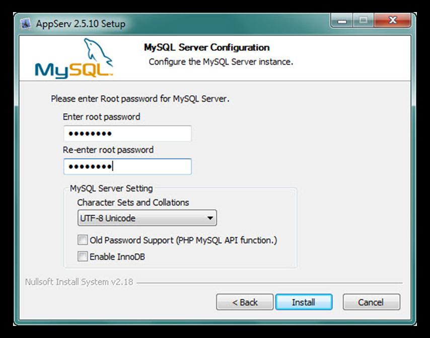 Hình 6: Cài đặt MySQL